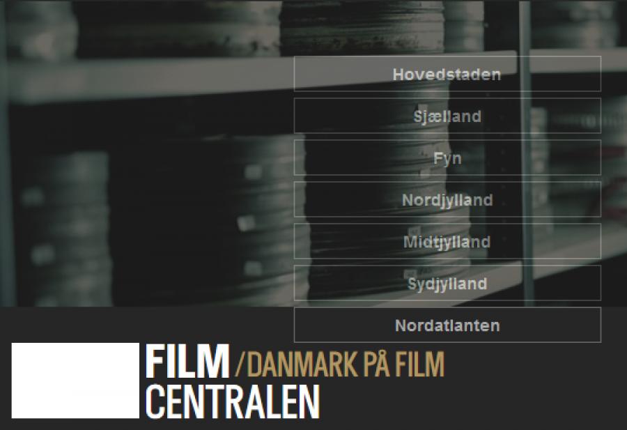 Danmarsk på film logo